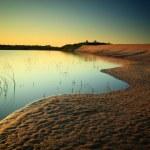 dunas de arena — Foto de Stock