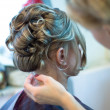 Making coiffure — Stock Photo #35009851