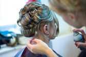 Making coiffure — Stock Photo
