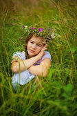 Girl portrait — Stockfoto
