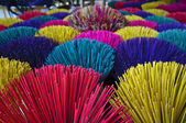Colorful incense — Stock Photo