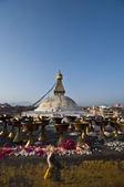 The Great stupa Bodnath — Stock Photo
