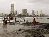 Mumbai Coast, India — Stock Photo
