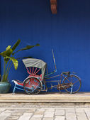 Tricycle in Penang — Stock Photo
