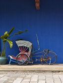 Tricycle in Penang — Zdjęcie stockowe
