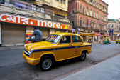 Ambassador Cab — Stock Photo