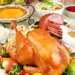 Thanksgiving dinner — Stock Photo