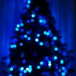 Royalty-Free Stock Photo: Christmas tree blur