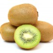 Kiwi fruit isolated on white — Stock Photo #39937527