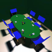 Karten-glücksspiel — Stockfoto