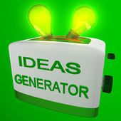 Generator of ideas — Stock Photo