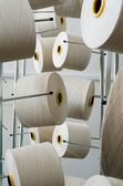 Rolls of industrial cotton — Stock Photo