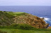 Golf grün und meer — Stockfoto