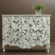 Stock Photo: Classic wooden dresser
