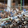 Stockfoto: Pile of scaffold