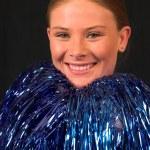 Miss America Cheerleader 1 — Stock Photo