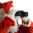 Father Christmas Business Strategy — Stock Photo