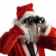 Father Christmas Business Strategy — Foto Stock