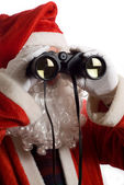 Father Christmas Business Strategy — Foto de Stock