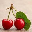 Royalty-Free Stock Photo: Red cherries