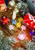Christmas preparations — Stock Photo