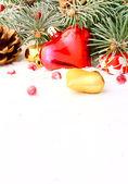árbol de navidad guirnalda — Foto de Stock