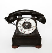 Wood Telephone — Stock Photo