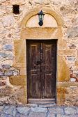 Old Wood Door — 图库照片