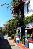 Kalkan House Restaurant — Stock Photo