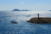 Kalkan lighthouse — Stock Photo