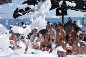 Foam Party — Stock Photo
