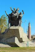 Ataturk skulptur — Stockfoto