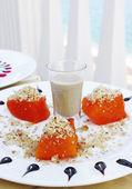 Pumpkin Dessert — Stock Photo