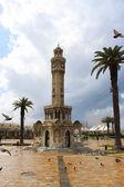 Clock Tower in Konak squere — Stock Photo