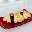 Luxury two sushi — Stock Photo