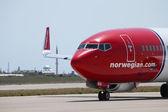 Noorse luchtvaartmaatschappijen — Stockfoto