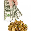 Stock Photo: Cash For Gold 1