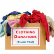 Clothes Donation Box — Stock Photo #17495975
