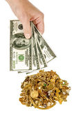 Cash For Gold 1 — Stock Photo
