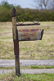 Snail Mail Becoming Obsolete Mailbox — Stock Photo