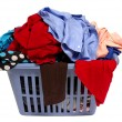 Stock Photo: Laundry Basket Of Clothes