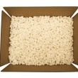 Stock Photo: Packing Peanuts In  Cardboard Box