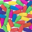Colorful Pencil Eraser Background — Stock Photo #51462659