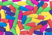 Colorful Pencil Eraser Background — Stock Photo