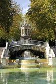 Darcy park in Dijon — Stock Photo