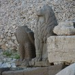 Stock Photo: Monument of gods on nemrut mountain