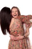 フレンドリーな抱擁 — ストック写真