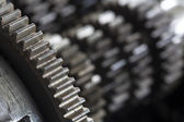 Gearbox gears — Stock Photo