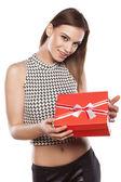 Valentine gift — Stock Photo