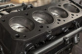 Four cylinder engine — Stock Photo